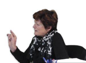 """H Δημοτική Σύμβουλος της """"Λαϊκής Συσπείρωσης"""" κ. Μαρία Αργυρού."""