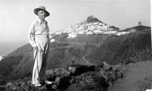 Ο Δημήτρης Γληνός, στον Πύργο, το 1938