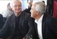Ο κ. Χαραλαμπίδης, με τον Πρόεδρο της ΕΣΘΠ-Santo Wines